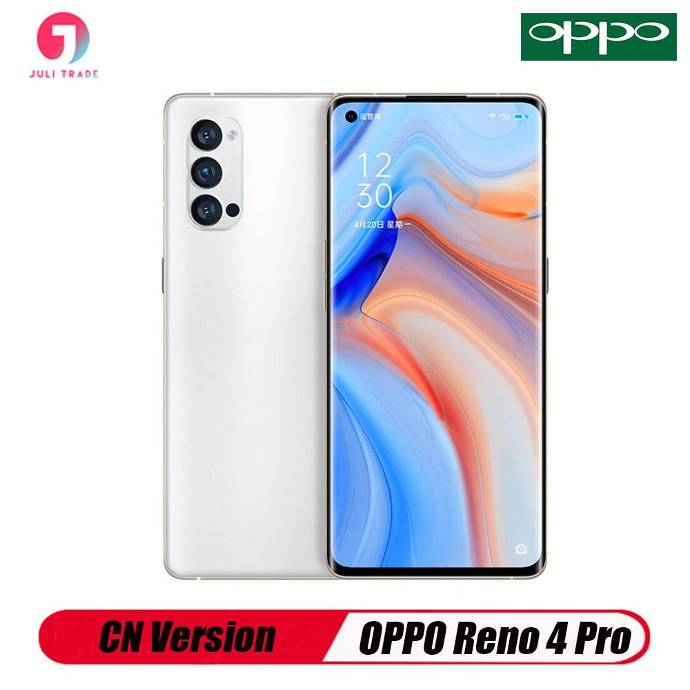 Перейти на Алиэкспресс и купить OPPO Рино 4 PRO 5G смартфон OLED Snapdragon 76 5G 48MP Camea быстро Зарядное устройство 65 Вт NFC распознавания лиц и Hyper Boost 3,0 Google Play