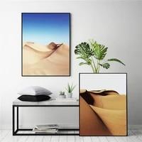Affiche dart nordique pour chambre a coucher  toile murale dart de desert  peinture de paysage  image murale pour decoration de maison