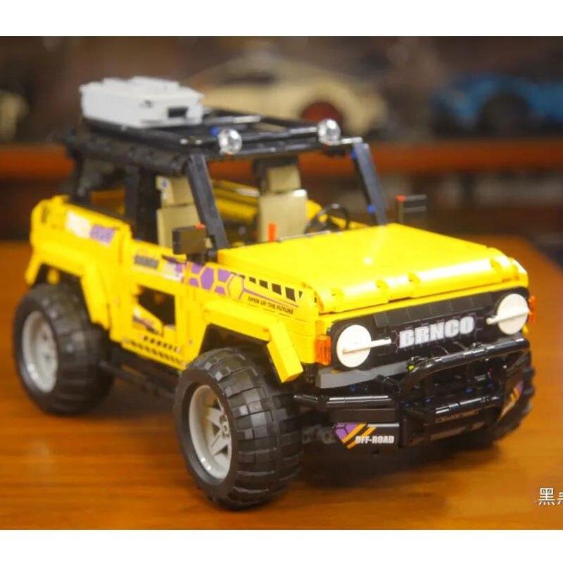 MoYu 88005 Механическая серия внедорожник Максима модель автомобиля пазл 2507 шт. строительные блоки кирпичные игрушки Детский подарочный набор