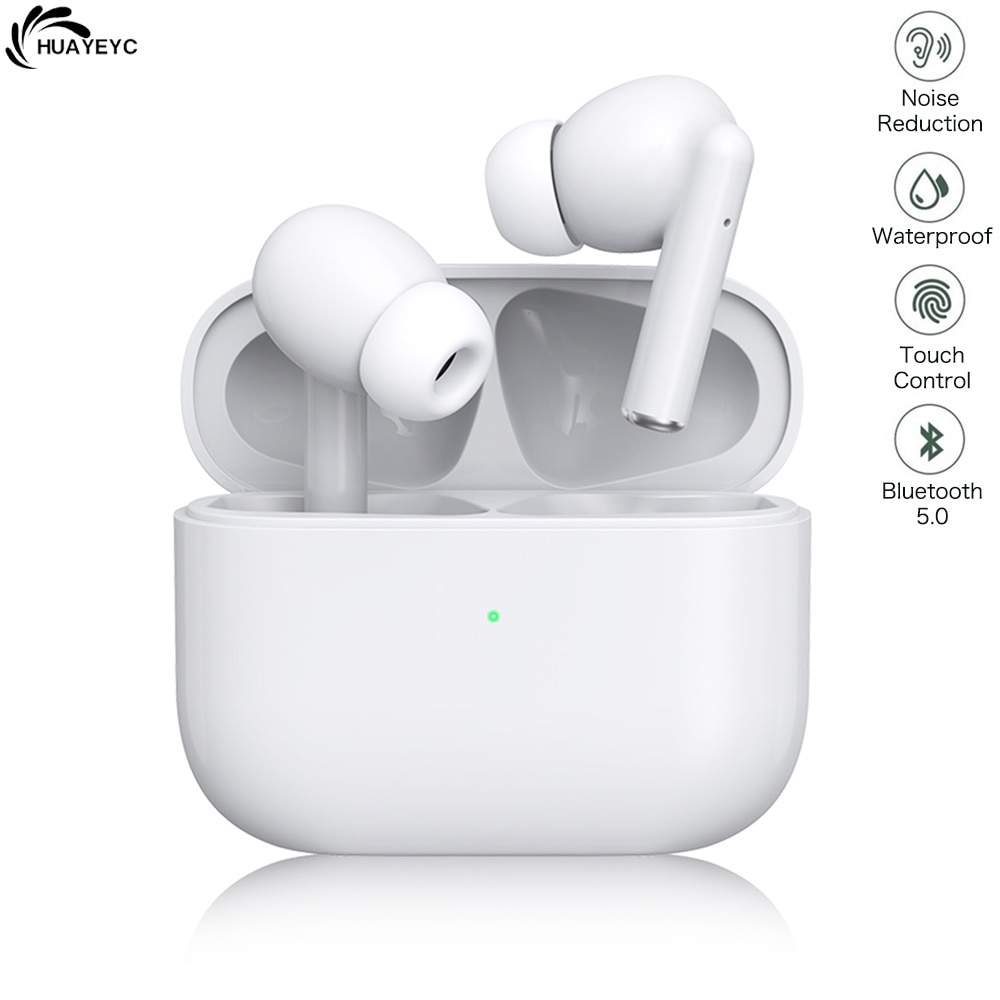 Auriculares TWS inalámbricos por Bluetooth 5,0, cascos deportivos con cancelación de ruido,...