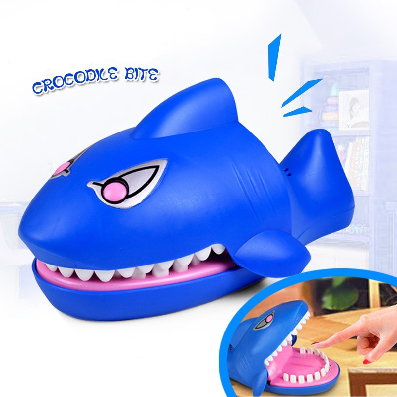 Kids Mouth Bite Finger Toy Decompression Party Game Toys Finger Biting Shark Crocodile Hand Biting Spoof Children's Toys Gift enlarge