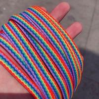 Радужные шнурки  #5