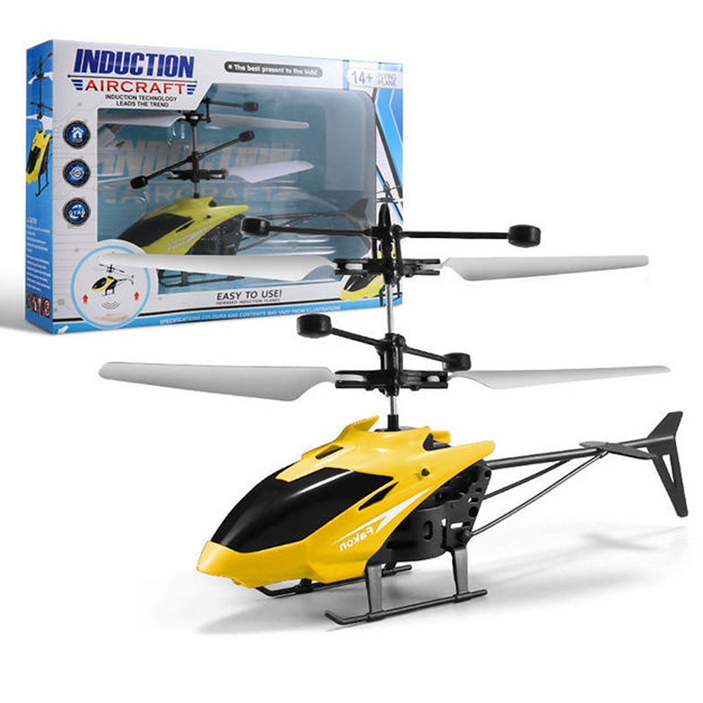 Kids Smart Toys Remote Control Plane Helicopter Toy Induction Floating Ball Children's Toys Control Equipment gift for birthday enlarge