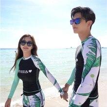 Marke MEIYIER paar passenden badeanzug korean mode schwimmen surfen upf 50 kleidung volle körper männer und frauen rashguard plus größe