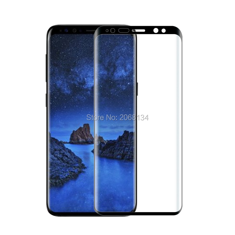 3D Curved full glue Safety Tempered Glass For Samsung Galaxy S9 Full Cover 9H film Screen Protector