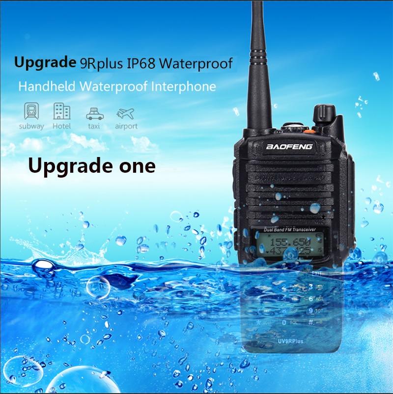 2pcs high Power 10w Baofeng UV-9R plus Waterproof walkie talkie two way radio ham radio cb radio comunicador рация