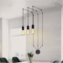 Classic design LED lamp pendant light vintage LOFT coffee shop modern living dining room bar hanging light fixture AC110-265v