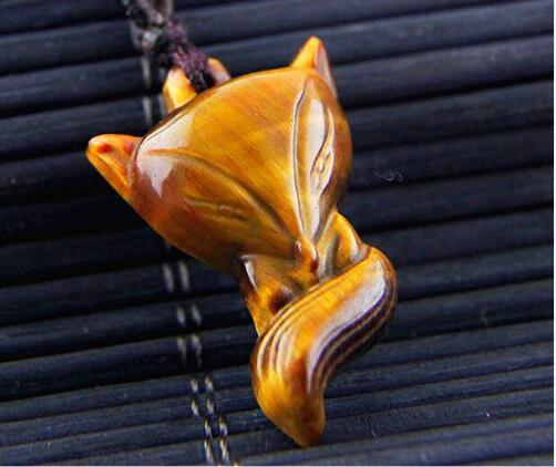 Envío Gratis colgante de cristal de Piedra natural Ojo de Tigre pequeño...