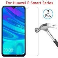 Чехол для huawei p smart plus 2018 pro 2019 2020 z, защитный экран из закаленного стекла для смартфона