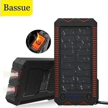 80000mAh Solar Wireless Power Bank Phone Charger Portable Outdoor Travel Emergency Charger Powerbank
