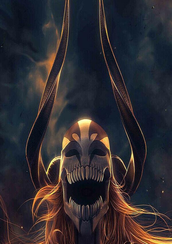 J006 bleach oco luta filme comic máscara anime cartaz de seda adesivo de parede decoração presente