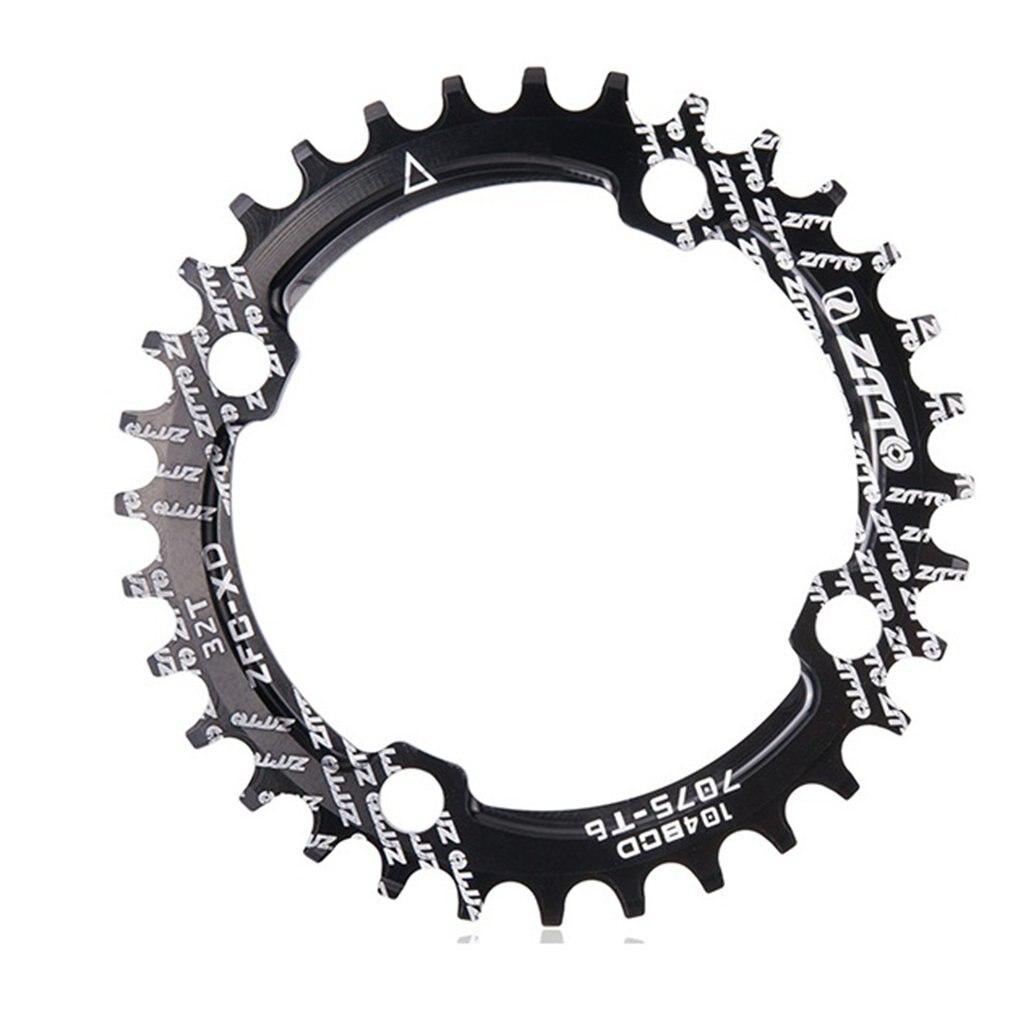 Ztto única velocidade 1x sistema estreito largo chainring 104 bcd redondo 32 t 34 t 36 t para mtb 11s 10s 9s 1*11 anel de roda dentada