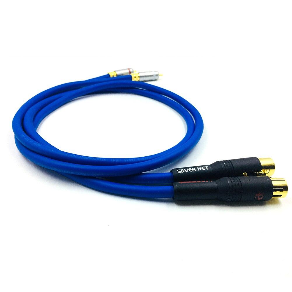 Câble Audio Hifi Cardas double RCA mâle vers XLR câble femelle 2 XLR femelle vers 2 prise RCA