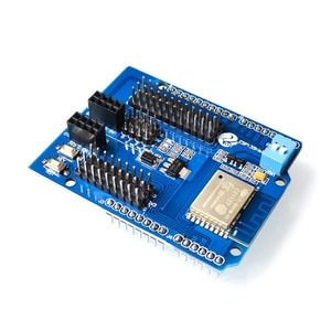 ESP8266 Arduino Expansion Board With ESP-wroom-02 For Arduino R3 2560 WiFi Shield Board Module Strong Anti-interference PCBA