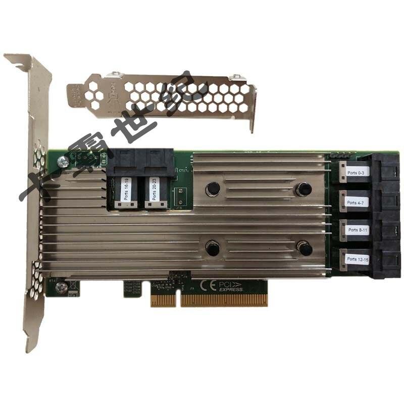 Avago LSI SAS 9305-24i SAS3224 24 puertos 12Gb HBA tarjeta nueva garantía original por tres años