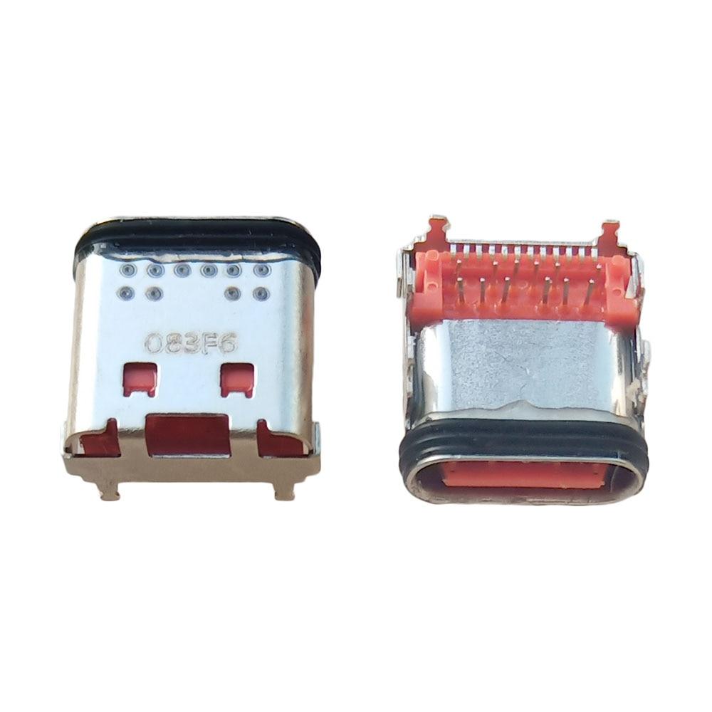 100pcs USB Type C Jack Female Socket Connector For JBL Flip 5 charge 5 Go 3 Bluetooth Speaker Micro USB Charging Port Dock