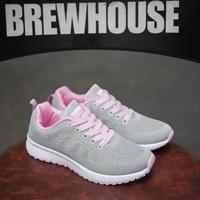 women casual shoes fashion breathable walking mesh flat shoes woman white sneakers women tenis feminino female shoes size 35 44