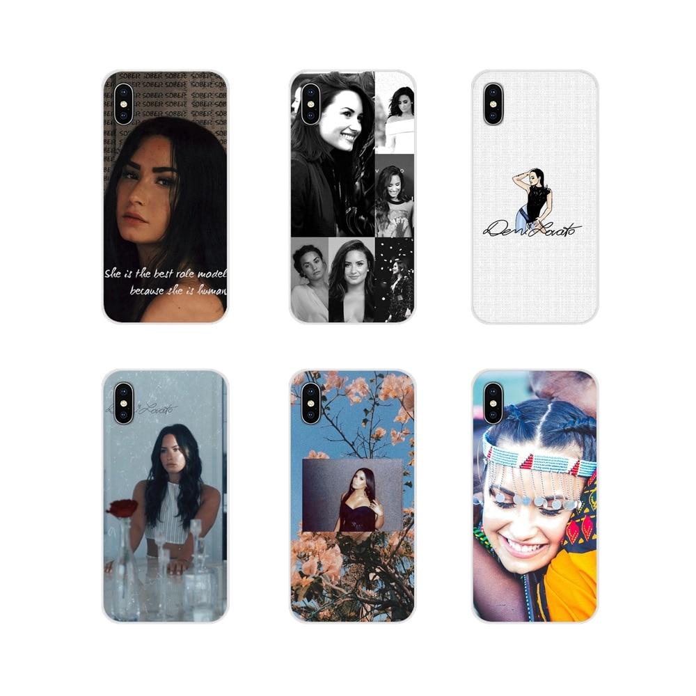 Acessórios Phone Cases Covers Demi Lovato Para Huawei Y5 Y6 Y7 Y9 Prime Pro GR3 GR5 2017 2018 2019 Y3II Y5II Y6II