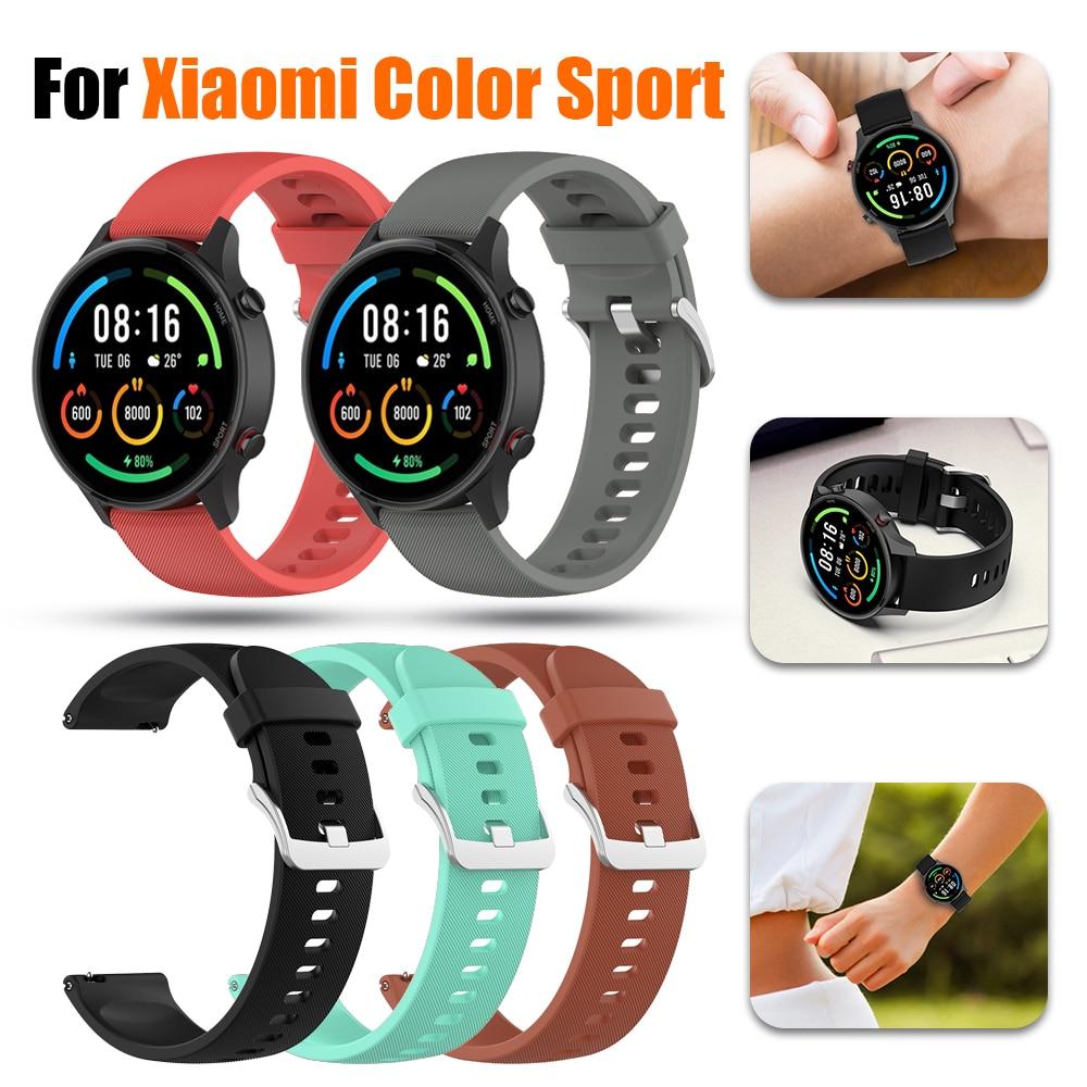 Correa deportiva Original para reloj XiaoMi, repuesto de pulsera de silicona suave...