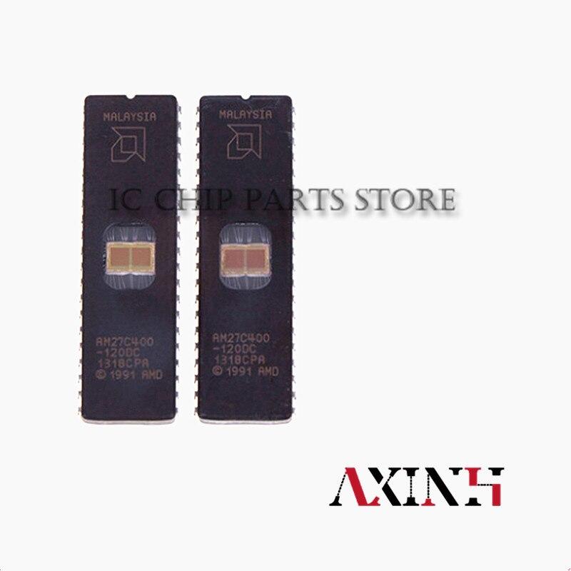 AM27C400-120DC 10 قطعة/السلع AM27C400 120DC DIP-40 جديد الأصلي IC في الأوراق المالية