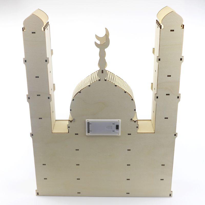 Календарь Рамадан с обратным отсчетом, украшение «сделай сам», деревянный ящик, украшение для вечерние, Прямая поставка Украшения своими руками для вечеринки      АлиЭкспресс