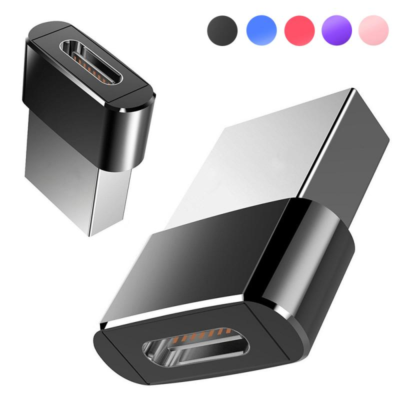 In Stock USB To Type-c Converter Adapter USB 2.0 Adapter Plug Portable Mini Computer Phone Adapter Mobile Phone Converters