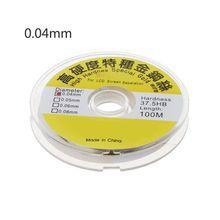 100m alliage or molybdène fil ligne de coupe LCD écran séparateur réparation T8WE