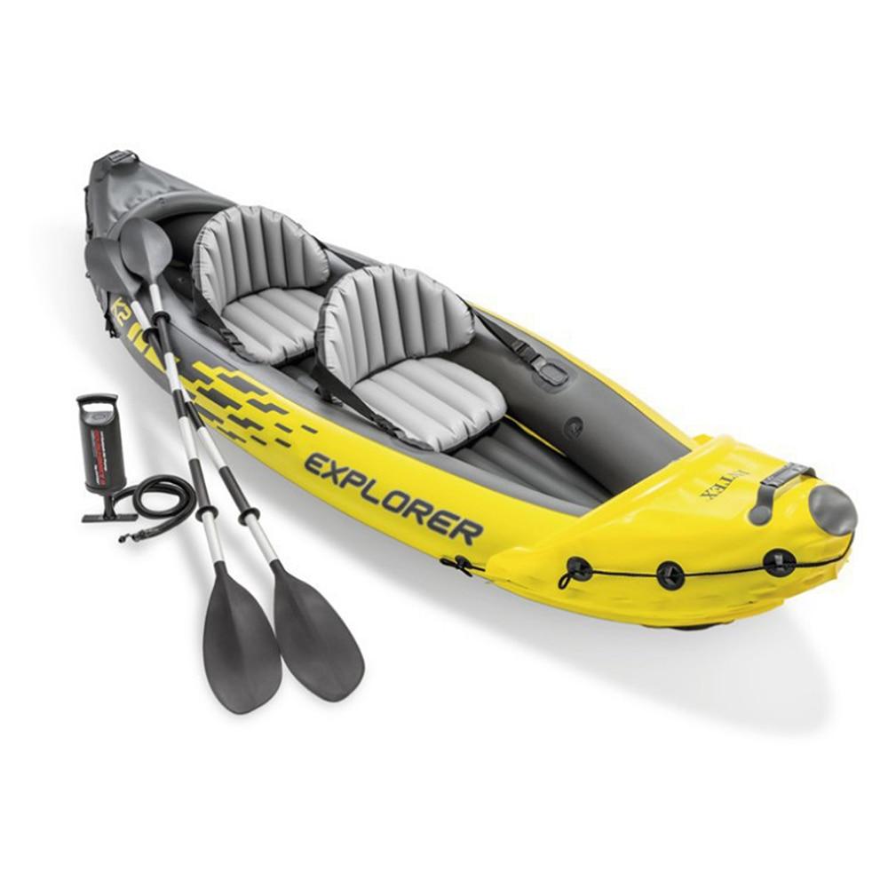 2-Person Kayak Inflatable boat sport kayak canoe pvc dinghy raft pump seat drop-stitch floor laminated professional Water Sport