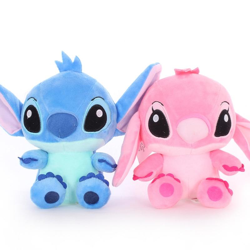 Кукла Ститч из аниме «Лило и Ститч» Disney, плюшевая игрушка, детские плюшевые игрушки, плюшевые игрушки, подарок для детей на праздник