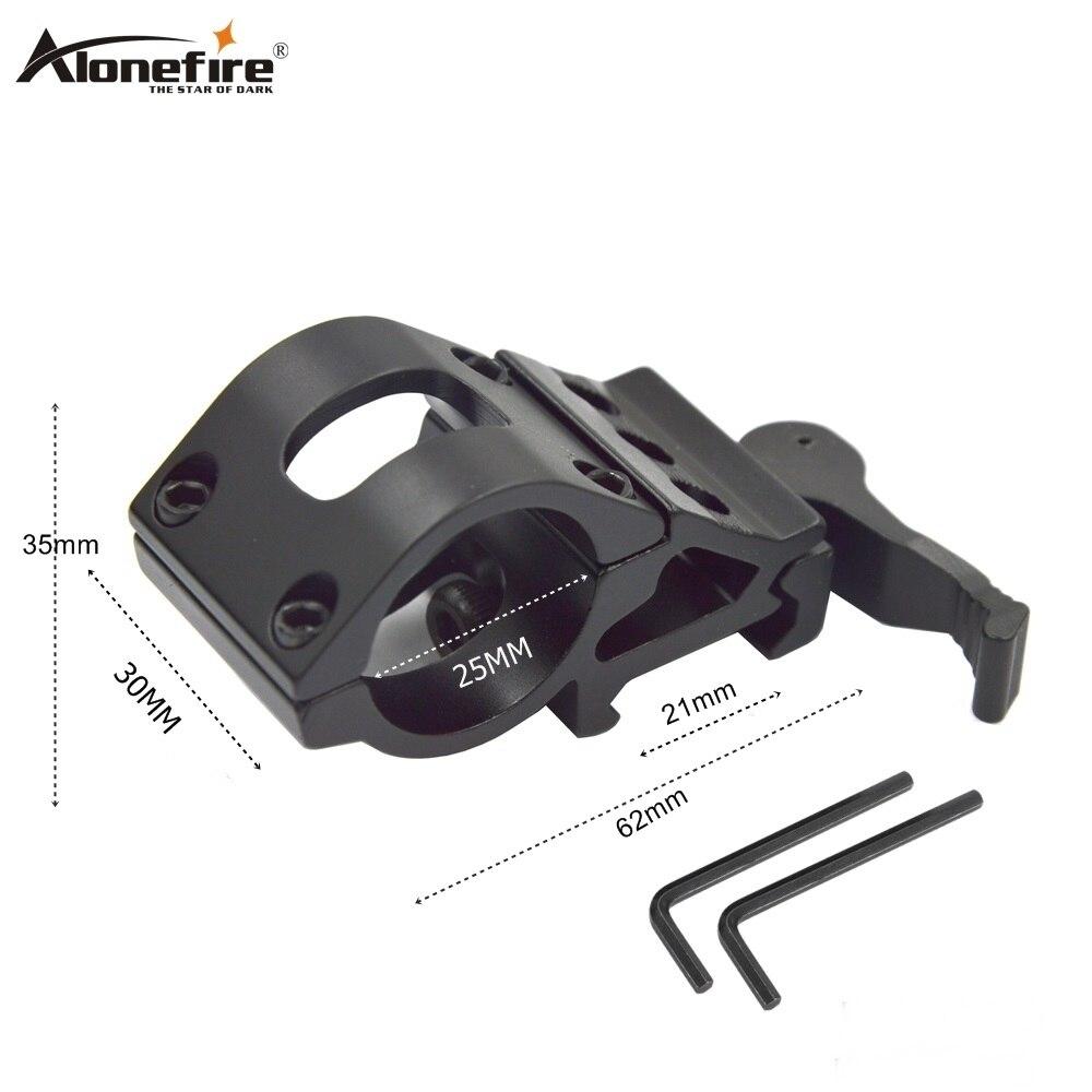 Alonefire KCT2008 25mmAirsoft Rifle Shot gun Sight Scope mounts Quick Release adjustable hunting Laser Sight Gun accessories