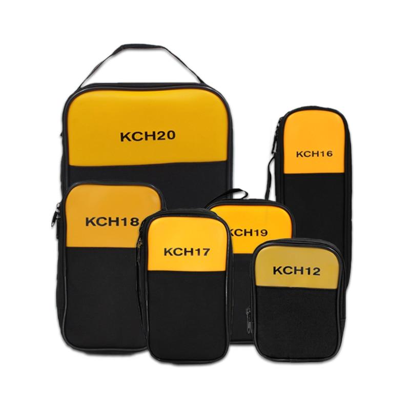 Kit de instrumentos personalizados multímetro Fluke, pinza KCH17/16/18/19/20, bolsa blanda para multímetro, paquete de doble capa KCH19 Fluke