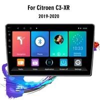 eastereggs 2 din android car radio for citroen c3 xr 2019 2020 wifi gps navigation fm bluetooth car multimedia player head unit