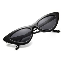 2020 cat eye shade for women fashion sunglasses brand woman vintage retro triangular cateye glasses