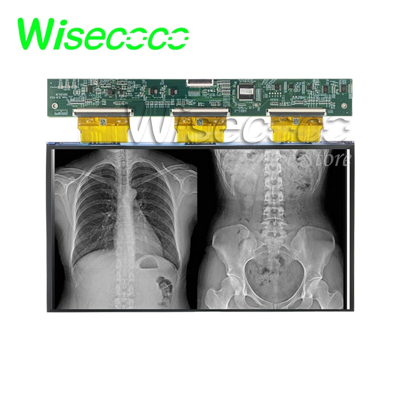Wisecoco 12.8 Inch 5k Monochrome LCD 3d Printer Mono Display FOG Controller Board Open Cell High Transmittance Medical Monitor enlarge