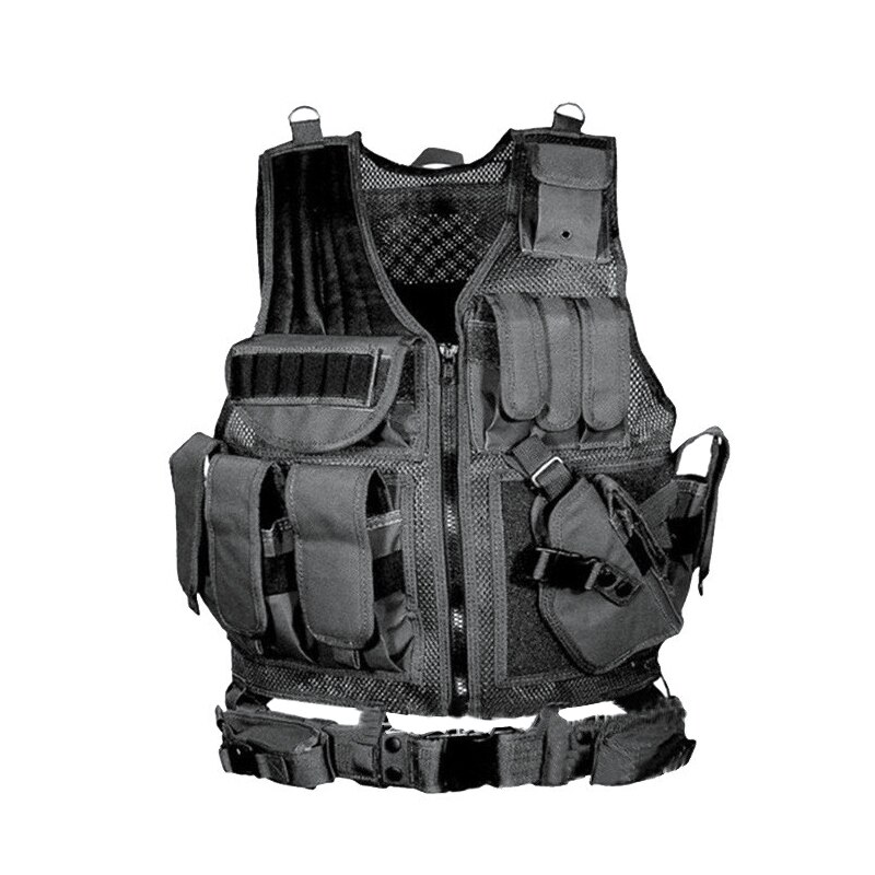 Army Tactical Equipment Military Molle Vest Hunting Armor Vest Airsoft Gear Paintball Combat Protective Vest For CS Wargame 8 недорого