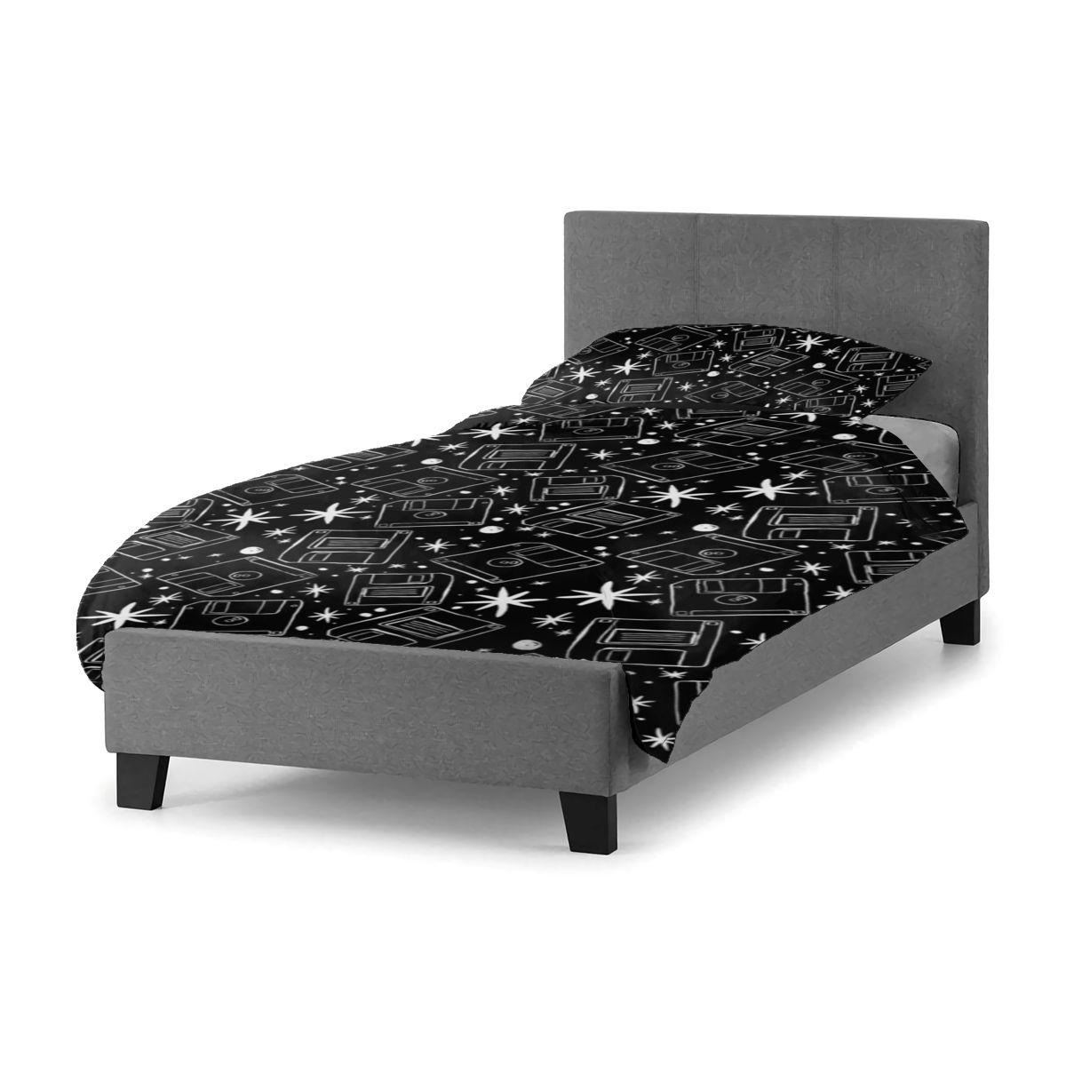 طقم سرير القرص غرفة نوم أغطية سرير الأحداث بيع مجموعة ورقة أنيقة