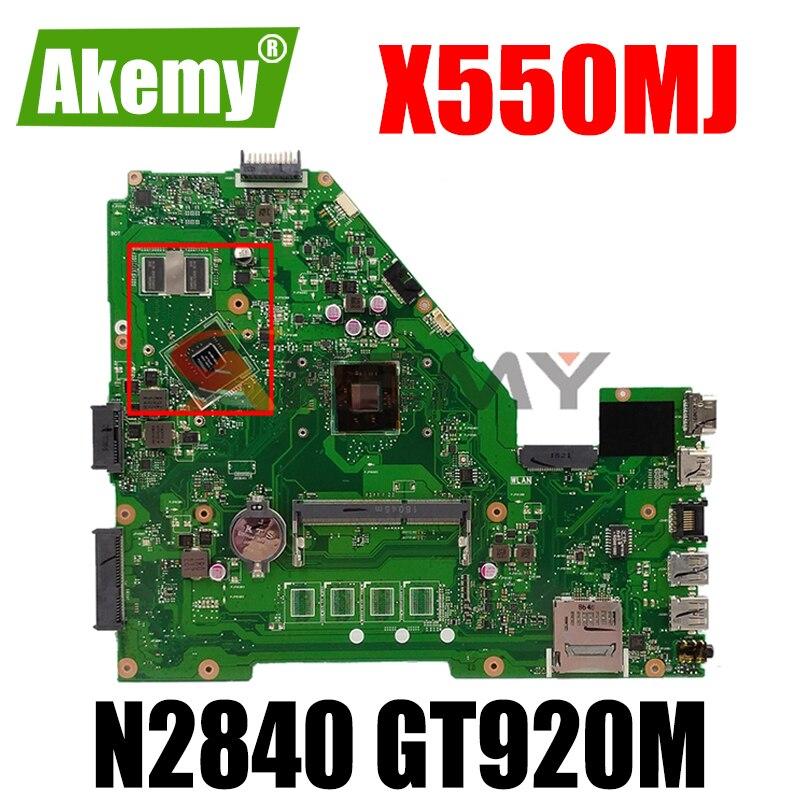 X550MJ N2840CPU دون RAM GT920M اللوحة القس 2.0 ل ASUS X550M Y582M X550MD X550MJ X552M اللوحة المحمول 100% اختبار