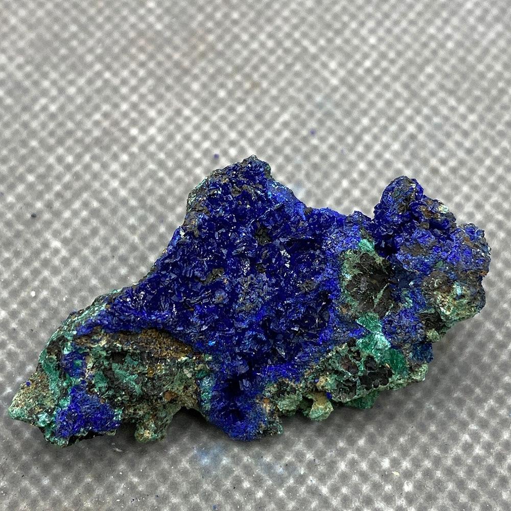 Natural azurite mineral cristal espécime da província de anhui, china .
