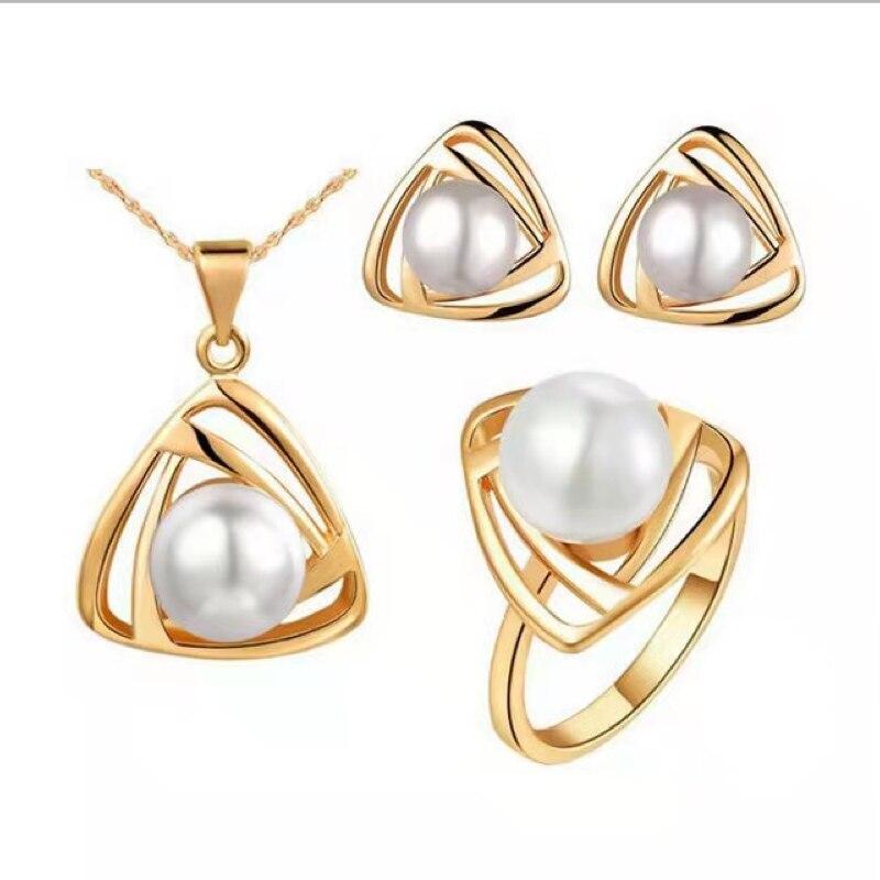 2021-модная-женская-обувь-повседневные-треугольной-Перл-выдалбливают-ожерелье-серьги-кольцо-3-1-предмет-женские-классические-аксессуары-ко