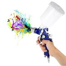 1.4mm Nozzle 600cc Professional Gravity Feed HVLP Paint Spray Gun Airbrush Car Furniture Finishing Coat Painting Spraying Tool