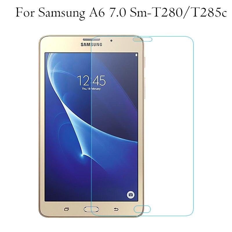 "Para Samsung Galaxy Tab 2 3 4 7.0 ""Sm-T211/5 T210 T230 T235 T280/5 T110/ 11 Filme Protetor de tela de Vidro Temperado"