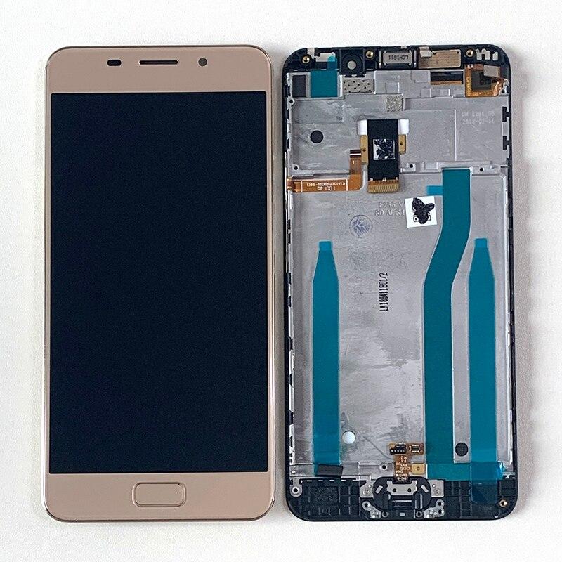 M & Sen-إطار شاشة LCD, M & Sen أصلية 5.2 بوصة لأجهزة ASUS Zenfone 3S Max ZC521TL X00GD إطار شاشة عرض LCD + محول رقمي للوحة تعمل باللمس + زر الصفحة الرئيسية لـ ZC521TL