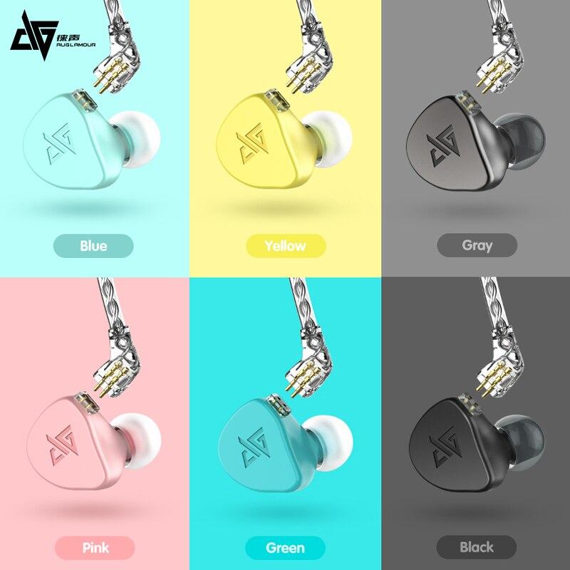 Auglamour F300 auriculares con cable de 3,5mm para videojuegos, música, auriculares de alta fidelidad para Xiaomi iPhone, teléfono, deportes, ordenador, Gamer