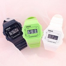 Children Watches LED Digital Clock Simple Student Small Fresh Electronic Watch Stylish Silicone Squa