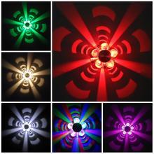 3W mur LED lampe AC85-265V lampe fleur éclairage moderne pour la décoration intérieure lumière pour KTV Bar Restaurant salon