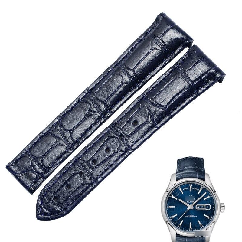 Pulseira de Couro Pulseira de Relógio Pulseira para Ville433.33calf-pulseira de Couro de Vaca Wentula Genuíno