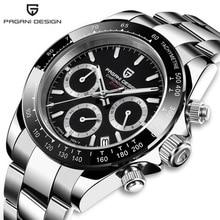 PAGANI DESIGN 2020 남성용 쿼츠 비즈니스 시계 탑 브랜드 럭셔리 시계 크로노 그래프 Relogio Masculino For Man