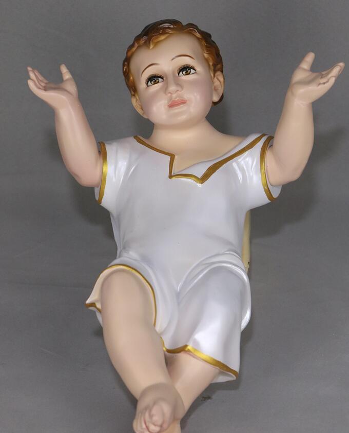 Ángel Navidad bebé Jesús nació manger vigil cristiano santo católico cosas estatua oración decoración regalos estatua culpture