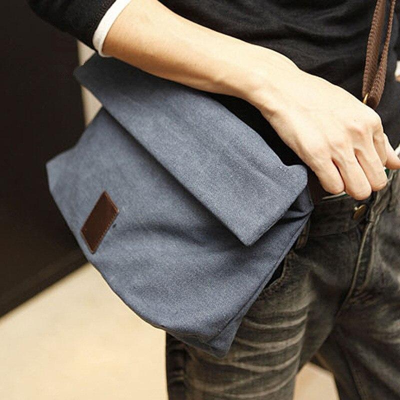 Clássico Da Lona Dos Homens Messenger Bags Casual mulheres Bolsas de Ombro Grande capacidade sacos Crossbody masculino dobre saco Envelope 2019