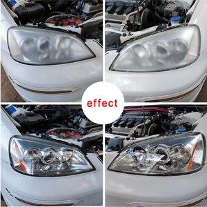 Image 5 - Набор для ремонта автомобильных фар, средство для восстановления и полировки автомобильных фар, гидрофобное покрытие